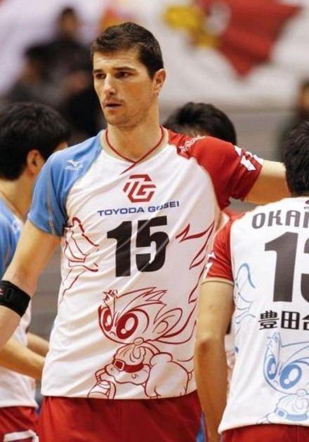 Igor Omrčen WorldofVolley JPN M Omren led Gosei with 35 points