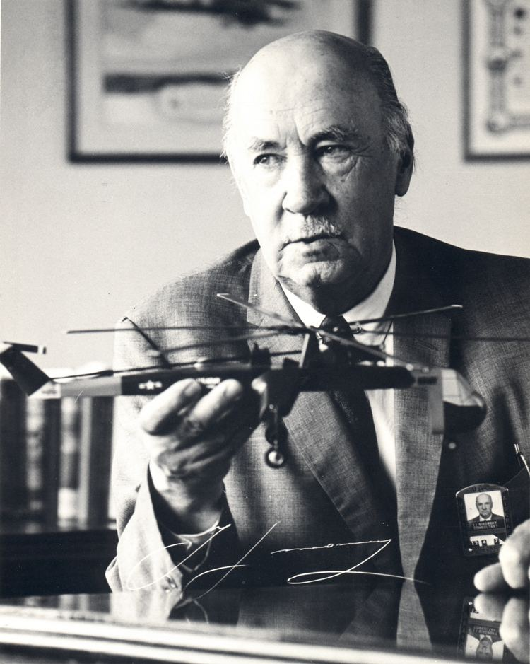 Igor Sikorsky Igor Sikorsky inventor of the practical helicopter