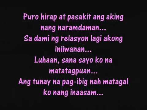 Ikaw Na Sana ikaw na sana lyrics YouTube