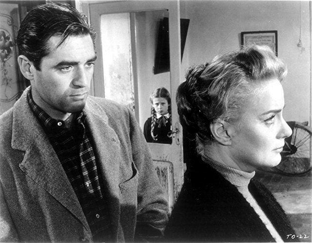 Il Grido movie scenes Valli in Il Grido 1957