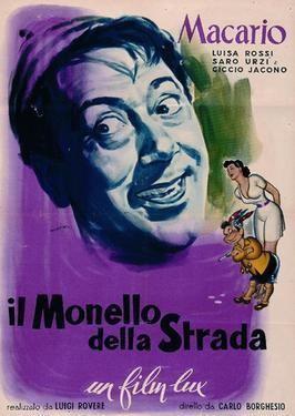 Il monello della strada movie poster