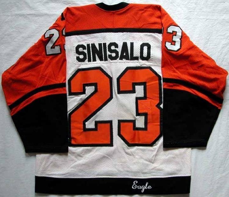 Ilkka Sinisalo 198586 Ilkka Sinisalo Flyers Game Worn Jersey quot31