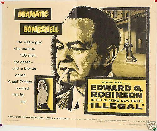 Illegal (1955 film) Illegal 1955 La vie en rose de Jayne Mansfield