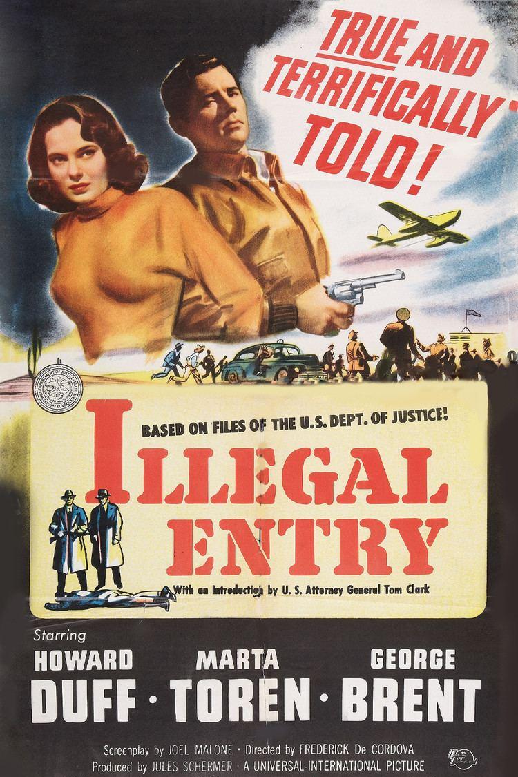 Illegal Entry (film) wwwgstaticcomtvthumbmovieposters38650p38650