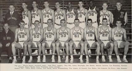 Illinois Fighting Illini men's basketball 195758 Illinois Fighting Illini men39s basketball team Wikipedia