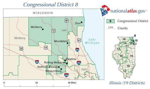 Illinois's 8th congressional district election, 2006