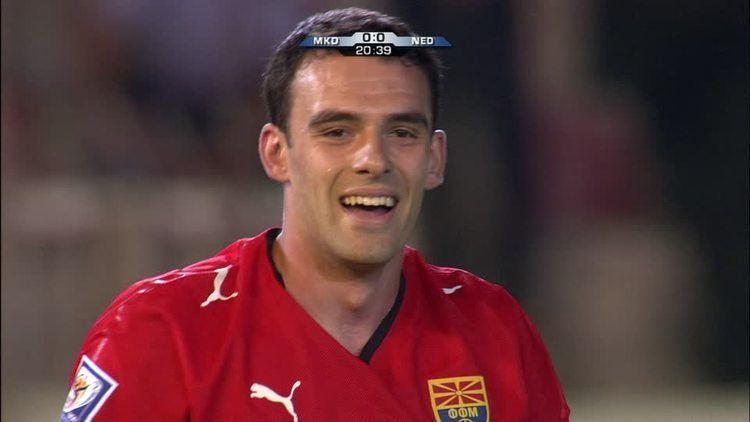 Ilco Naumoski World Cup Qualification Football Player Macedonia
