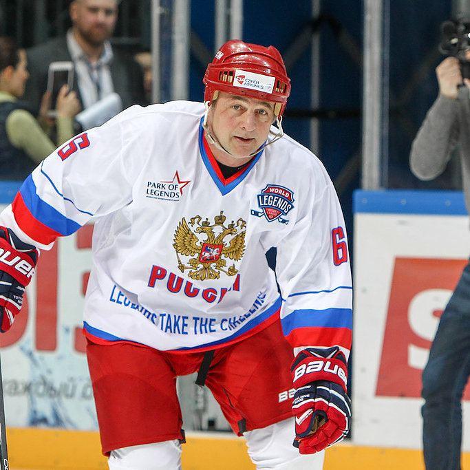 Ilya Byakin JLB Sports Rarities Ilya Byakin Game Worn Team Russia Legends
