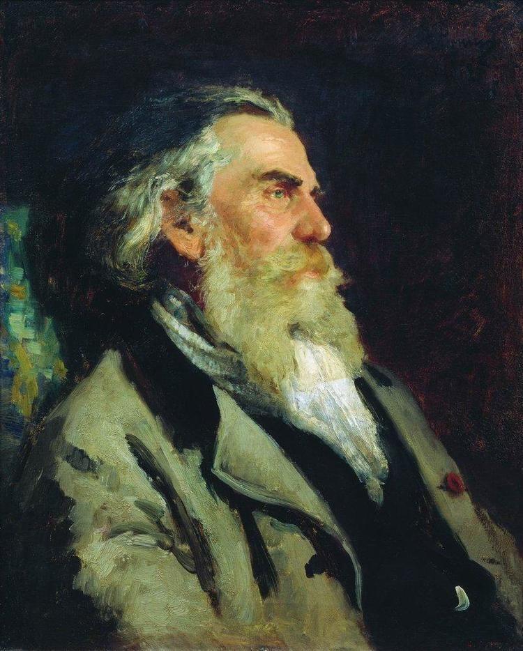 Ilya Repin Portrait of AP Bogolyubov Ilya Repin WikiArtorg