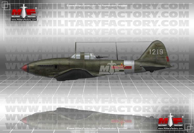 Ilyushin Il-10 Ilyushin IL10 Beast Ground Attack Aircraft