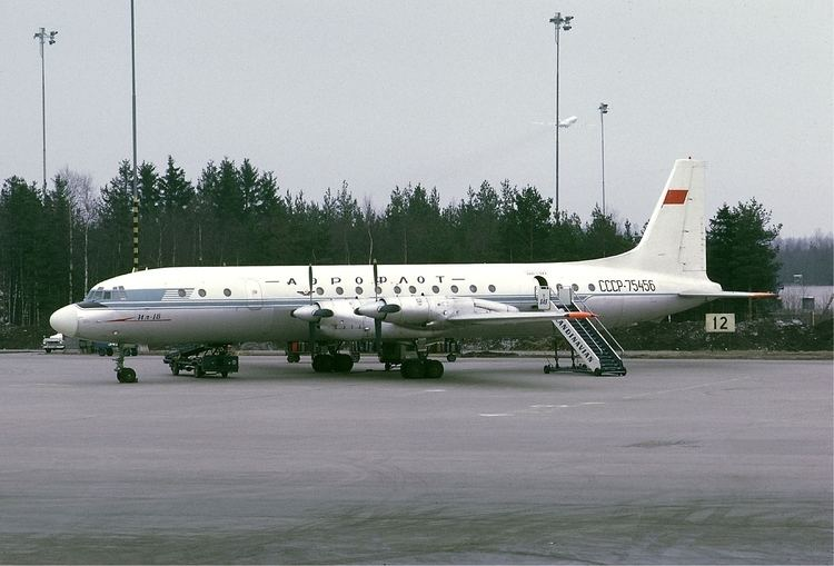Ilyushin Il-18 Ilyushin Il18 pictures technical data history Barrie Aircraft