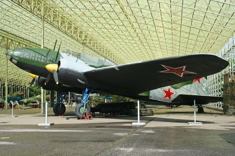 Ilyushin Il-4 FileIlyushin IL4 17404 2 white 8026541955jpg Wikimedia Commons