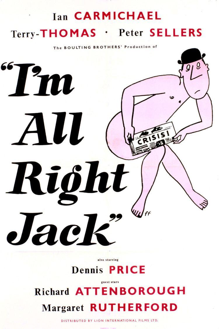 I'm All Right Jack wwwgstaticcomtvthumbmovieposters36893p36893