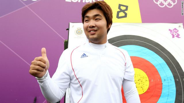 Im Dong-hyun Blind archer posts first world record of London Olympics