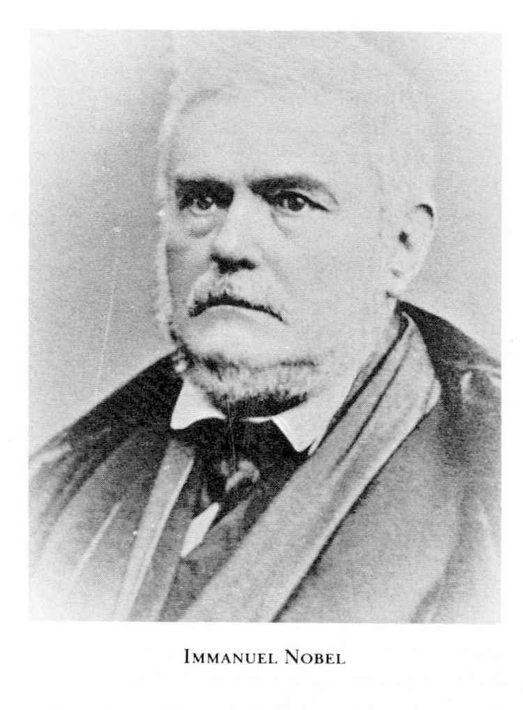 Immanuel Nobel Immanuel Nobel Svenskt Biografiskt Lexikon