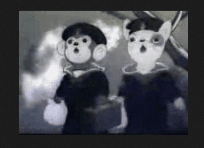 Imokawa Mukuzo Genkanban no Maki Historia de la animacin Origen y destruccin del gigante de la