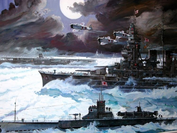 Imperial Japanese Navy Wallpapers Painting Art Ships Imperial Japanese Navy IJN Army