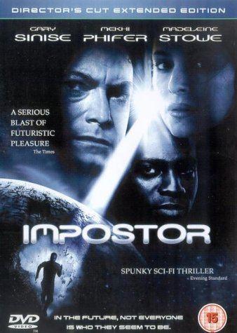 Impostor (film) Imposter DVD Amazoncouk Gary Sinise Madeleine Stowe Vincent