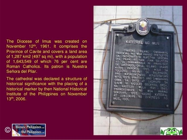 Imus in the past, History of Imus
