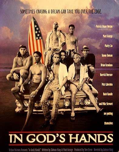 In God's Hands (film) IN GODS HANDSorig rolled SURFING Movie Poster 1998 Surf Surf
