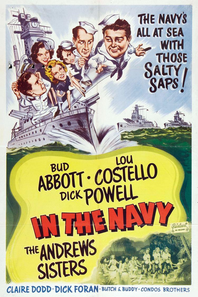 In the Navy (film) wwwgstaticcomtvthumbmovieposters758p758pv