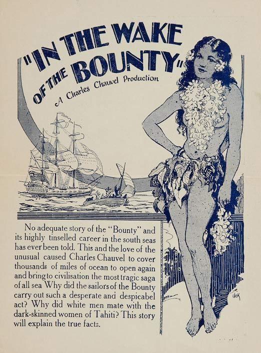 In the Wake of the Bounty In the wake of the bounty 1933 The Errol Flynn Blog