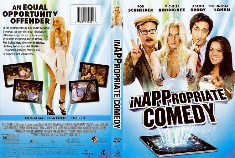 Inappropriate Comedy InAPPropriate Comedy Movie DVD Scanned Covers InAPPropriate