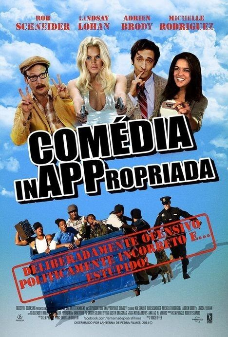 Inappropriate Comedy InAPPropriate Comedy Movie Poster 2 of 2 IMP Awards