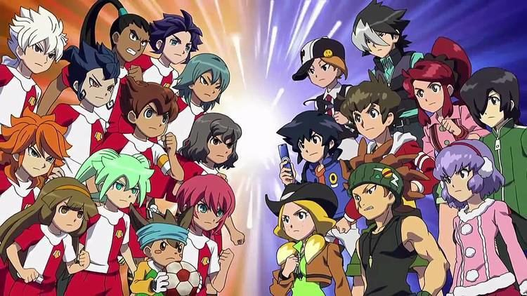 Inazuma Eleven GO vs. Danbōru Senki W Inazuma Eleven GO vs Danball Senki W Trailer 1 Teaser 1 YouTube