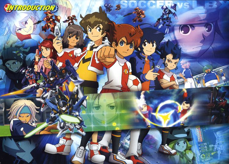 Inazuma Eleven GO vs. Danbōru Senki W Inazuma Eleven GO Vs Danball Senki W1489580 Zerochan