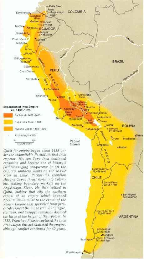 Inca Empire Inca Civilization Crystalinks