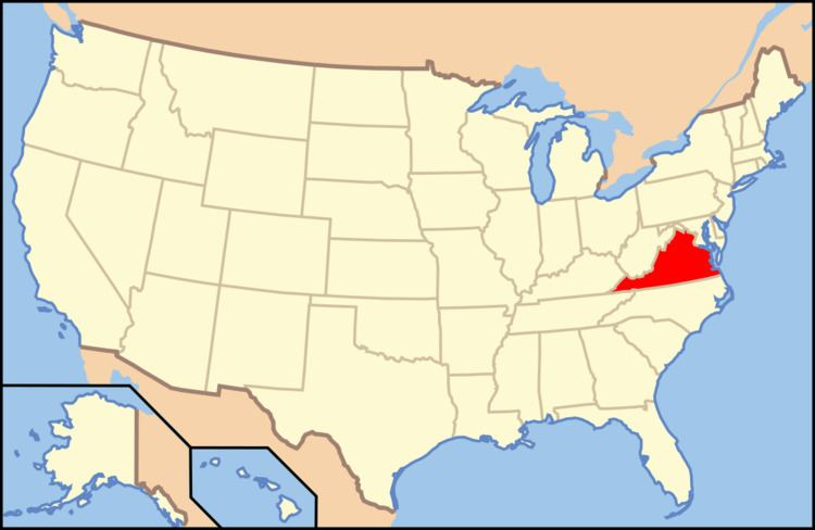 Index of Virginia-related articles