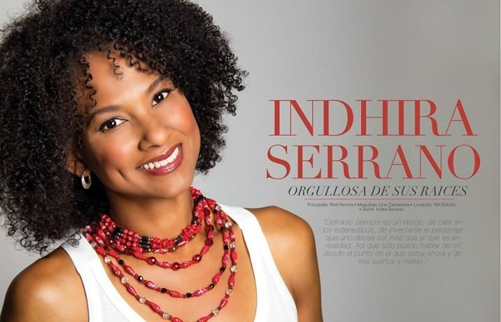 Indhira Serrano Editorial con Indhira Serrano para la revista Mundo Caribe