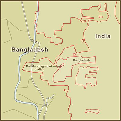 India–Bangladesh enclaves Throwback Thursday The IndoBangladesh Enclaves Lawfare