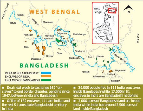 India–Bangladesh enclaves Historic IndiaBangladesh enclaves39 swap next week