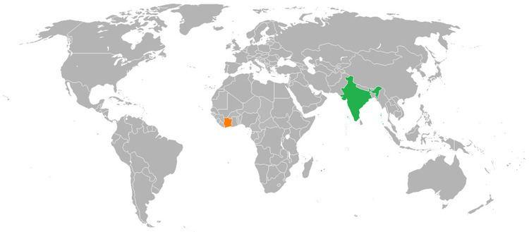 India–Ivory Coast relations