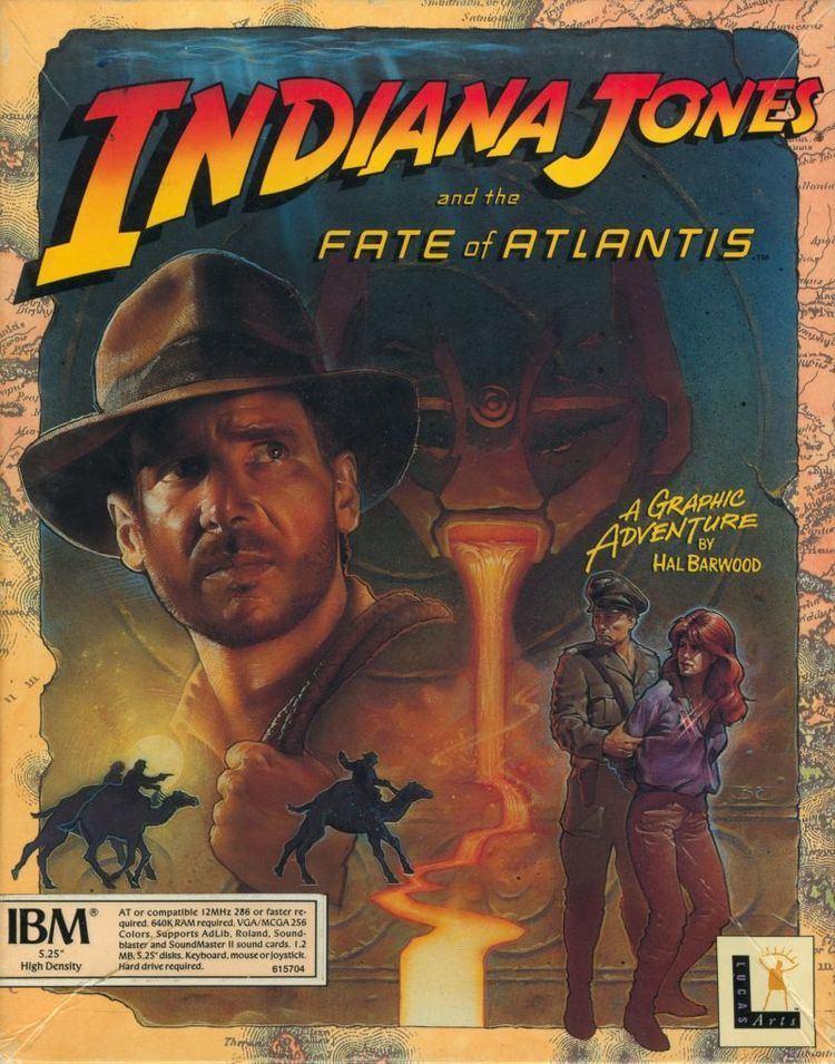 Indiana Jones and the Fate of Atlantis - Alchetron, the free