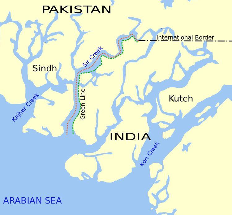 India–Pakistan maritime trespassing