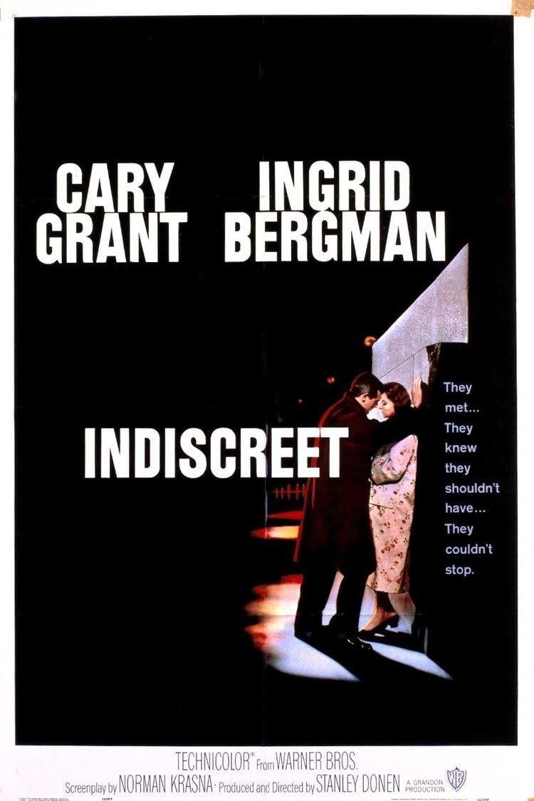 Indiscreet (1958 film) wwwgstaticcomtvthumbmovieposters2957p2957p