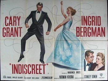 Indiscreet (1958 film) Indiscreet CARY GRANT FESTIVAL