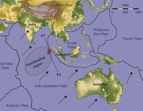 Indo-Australian Plate Breaking plates Australian Science