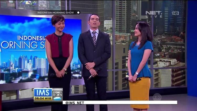 Indonesia Morning Show Penampilan Host Indonesia Morning Show menyanyikan lagu Hari Ayah