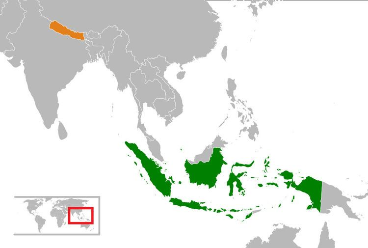 Indonesia–Nepal relations