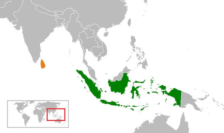 Indonesia–Sri Lanka relations