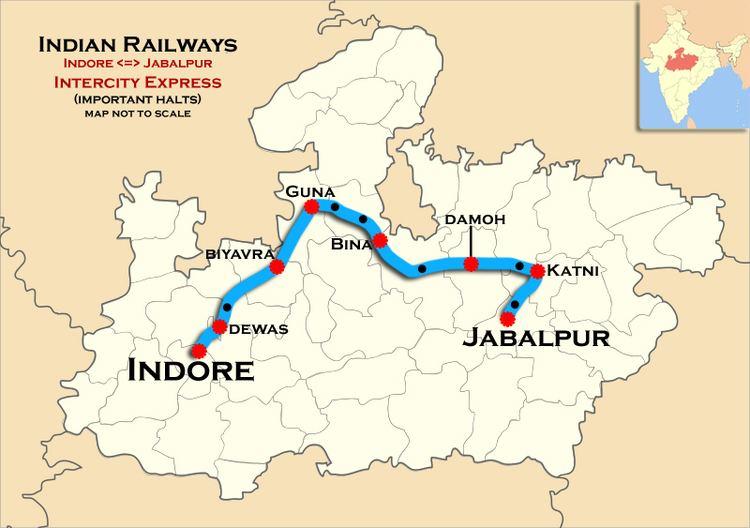 Indore–Jabalpur Intercity Express