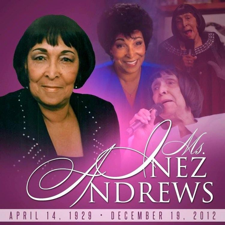 Inez Andrews Ms INEZ ANDREWS Obituary In LOVING Memory of The HIGH Priestess