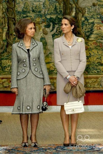 Infanta Elena, Duchess of Lugo Queen Sofa of Spain Photos 20081008