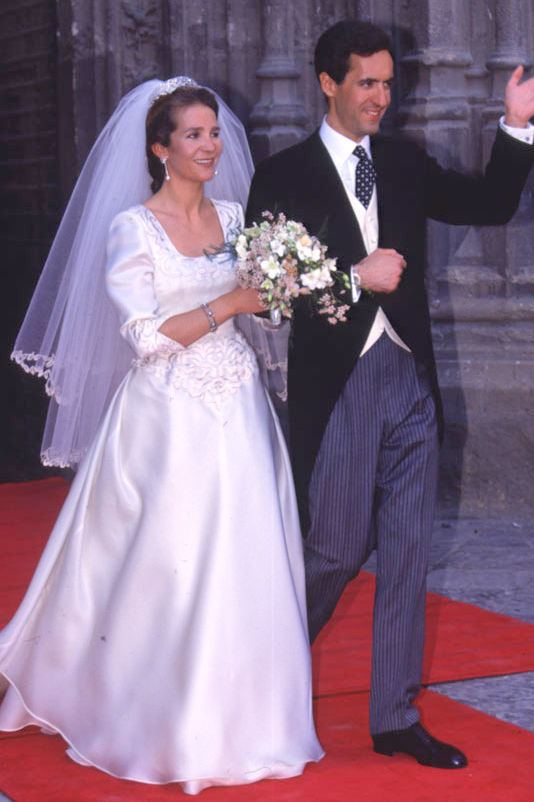 Infanta Elena, Duchess of Lugo The Royal Order of Sartorial Splendor Wedding Wednesday