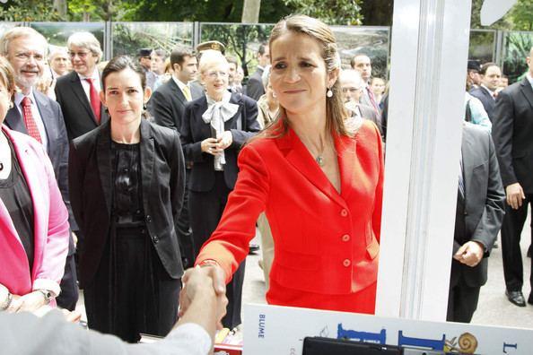 Infanta Elena, Duchess of Lugo Infanta Elena at the Madrid Book Fair Pictures Zimbio