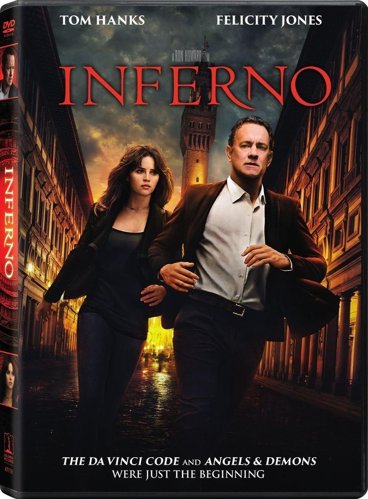 Inferno (2016 film) Inferno DVD Release Date January 24 2017